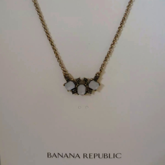 🆕 Banana Republic Delicate Stone Necklace